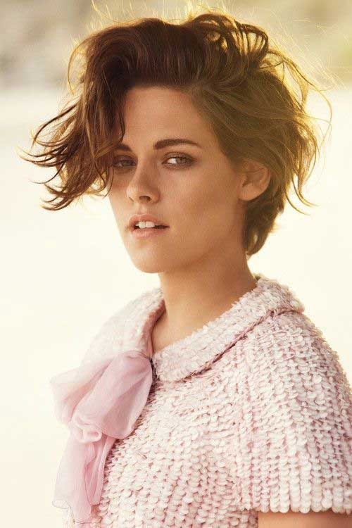 Hairstyles for Girls with Short Hair-7