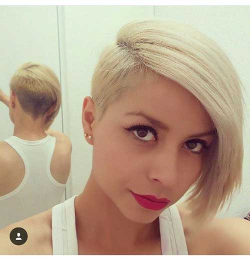 Very Pretty Short Hairstyles For Round Faced Ladies