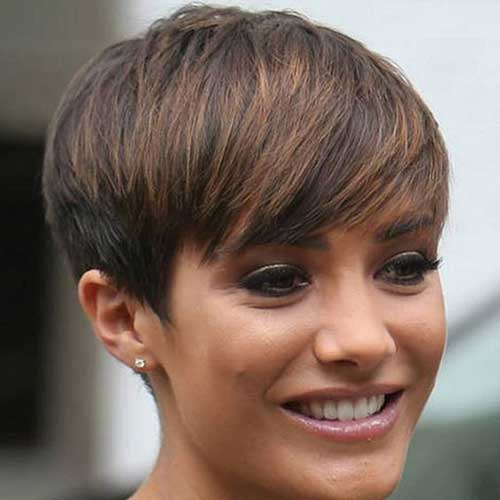 Short Haircuts with Bangs-8