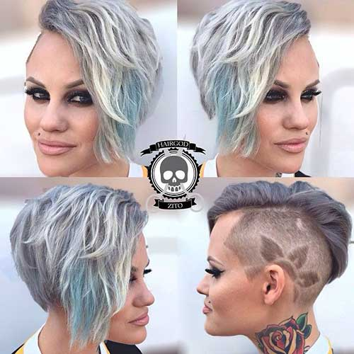 Wavy Short Hair Styles-9