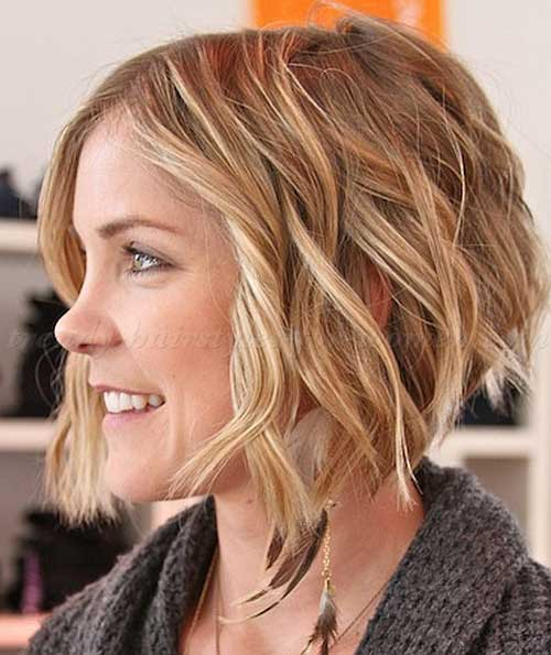 Short Wavy Hairstyle-9