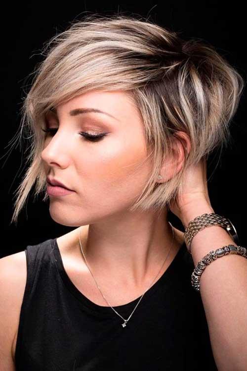 Short Blonde Hairstyles-9