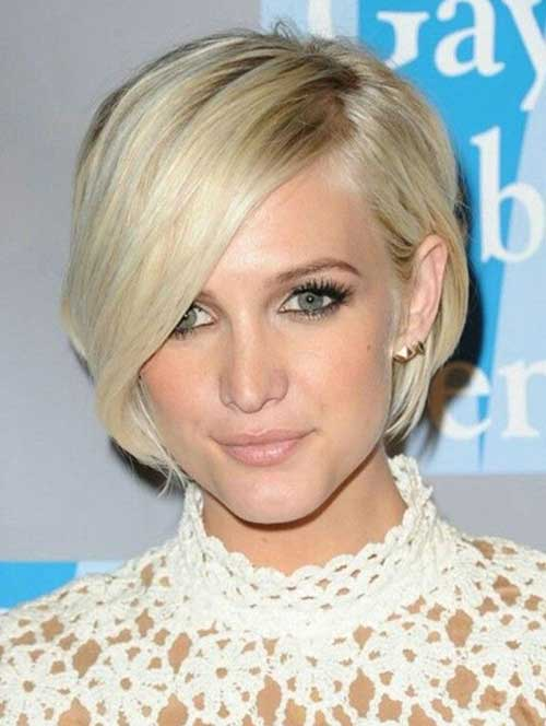 Short Hairstyles for Thin Hair-9
