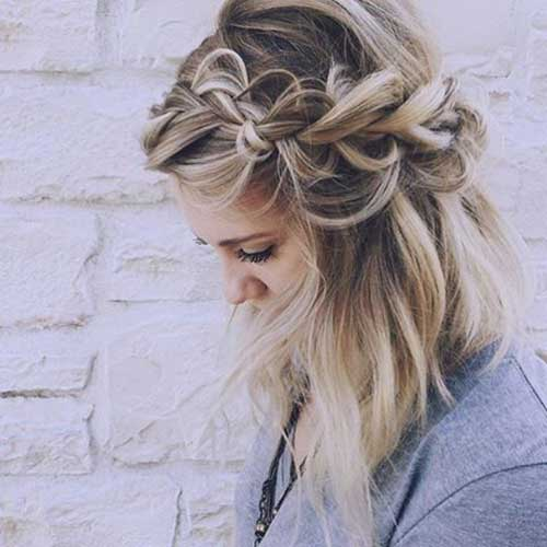 Different Braided Short Hairstyles Ideas Short Hairstyles Haircuts 2019 2020