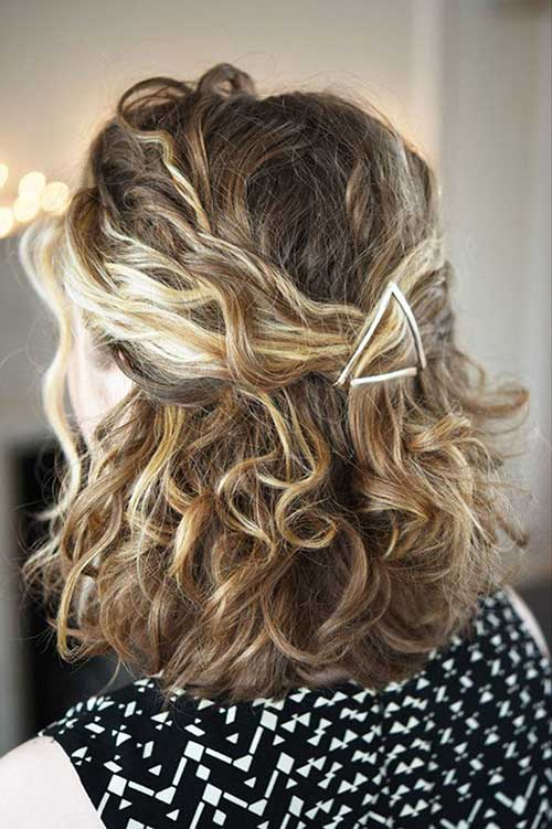 Cute Hairstyle for Girls with Short Hair