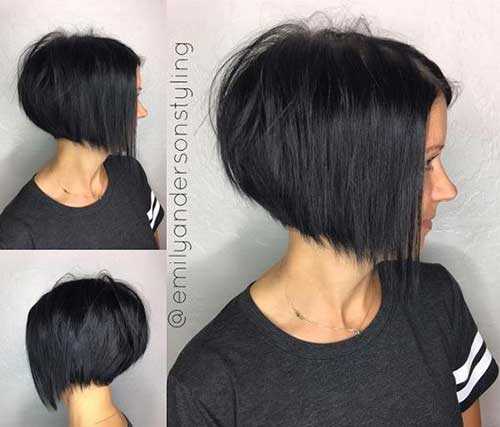 Dark Short Hair Colors