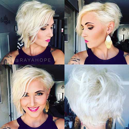 Round Faces Short Haircuts