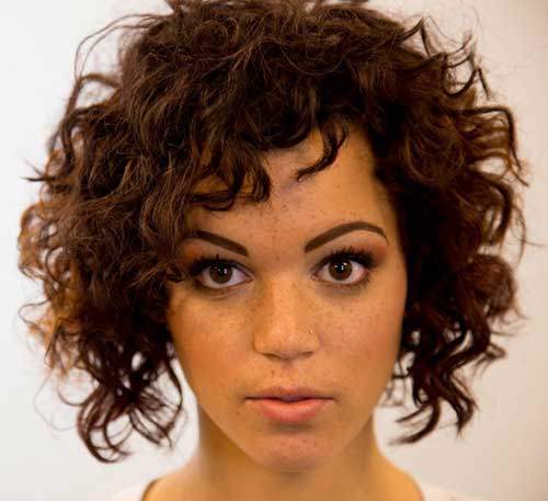 20 Most Beautiful Short Curly Hairstyles Short Hairstyles