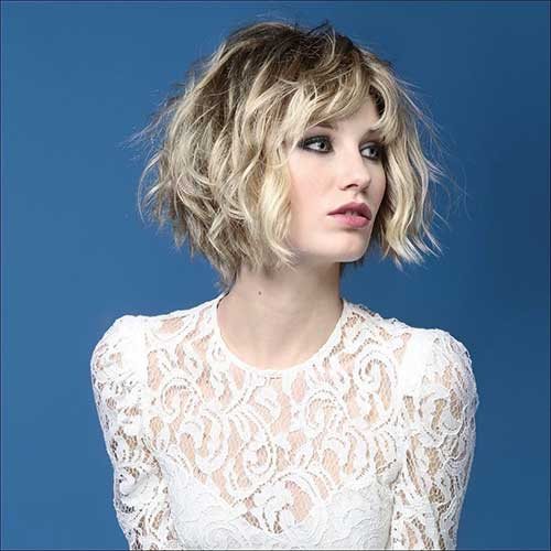 Best Wavy Short Hair