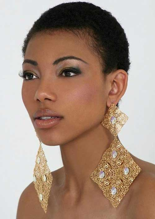 Short Hairstyles for Black Women-13
