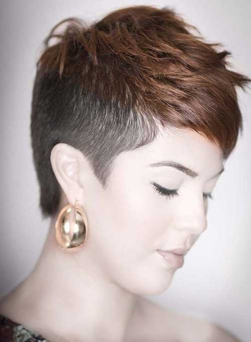 Unique Short Hairstyles For Attractive Ladies Short