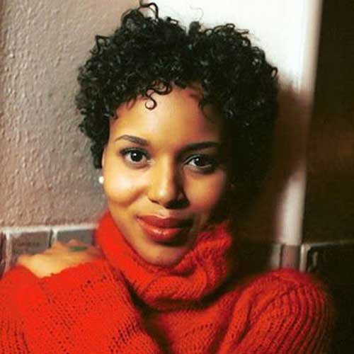 Short Hairstyles for Black Women-19
