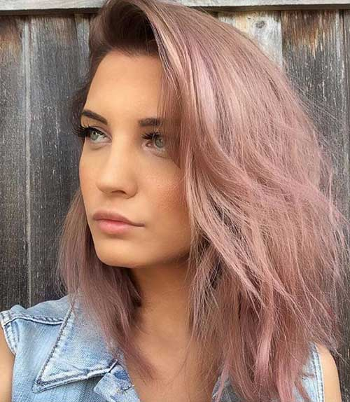 Great Hair Colors You Ll Want To Apply To Your Short Hair Short Hairstyles Haircuts 2019 2020