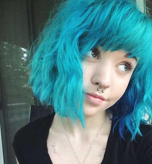 Short Haircut Colors