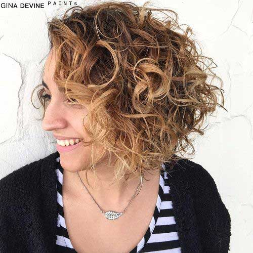 Short Curly Hairstyles-11