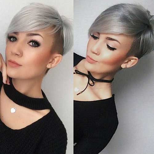 Modern Short Hairstyles Women-13