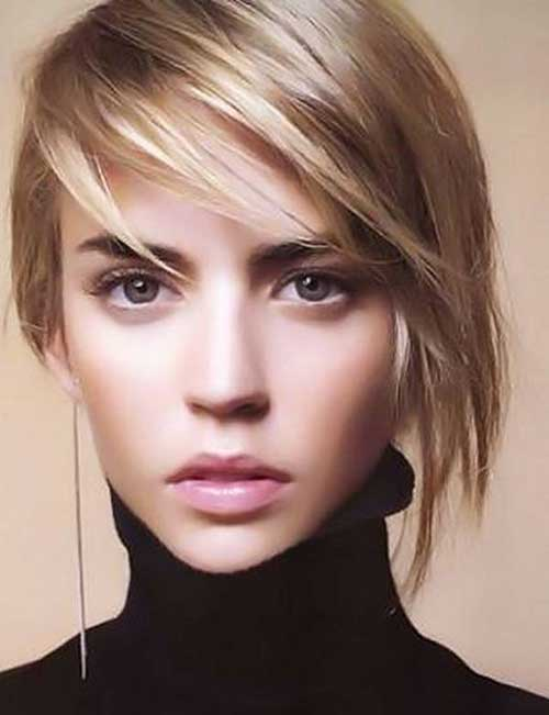 Short Layered Hairstyles-16