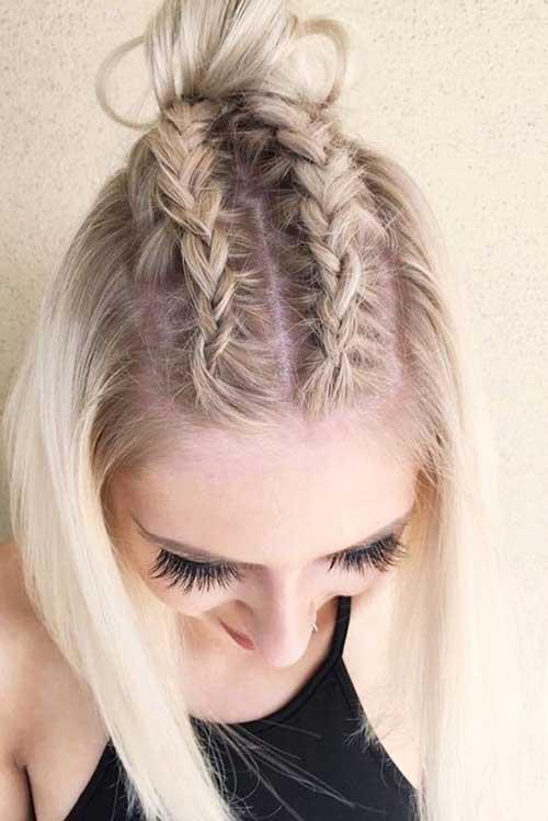 Braided Short Hairstyles-9