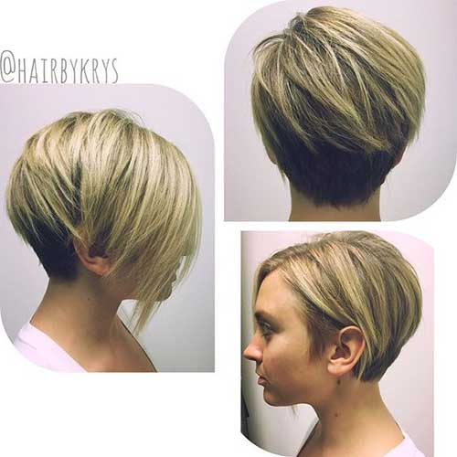 Best Blonde Short Hairstyles