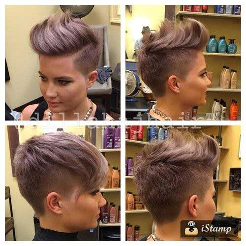 Modern Short Hair Cuts
