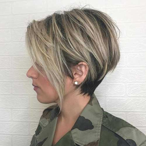 Amazing Hair Colors For Pretty Short Hairstyles Short Hairstyles Haircuts 2019 2020