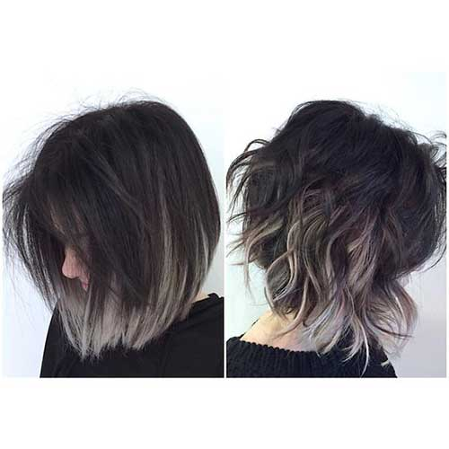 Layered Short Hair Cuts