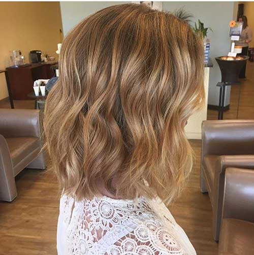 Wavy Short Hair Styles-10