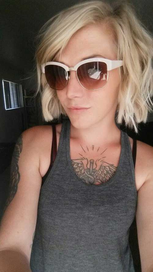 Cute Short Hairstyles-11