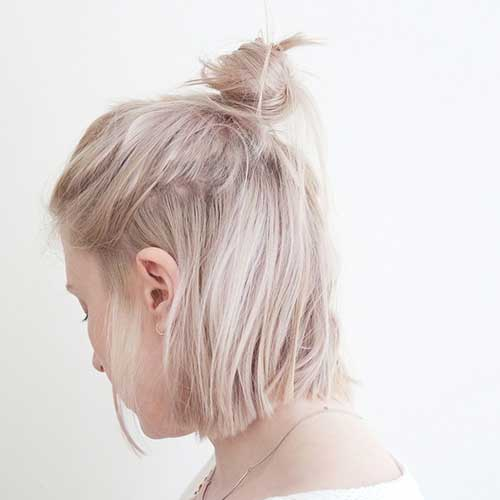 11.Short Updo Hairstyle