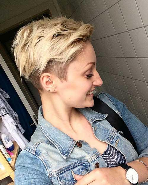Wavy Short Hair Styles-11