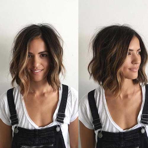 Wavy Short Hair Styles-13