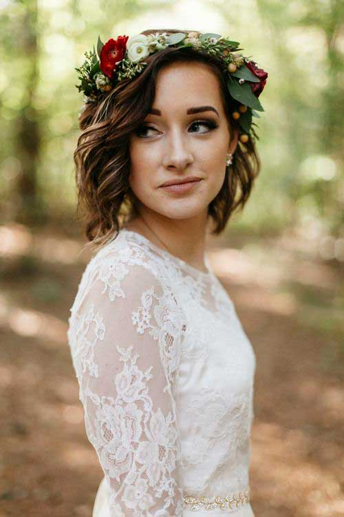 Short Updo Hairstyles-7