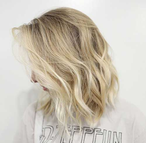 Wavy Short Hair Styles-7