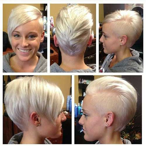 Popular Short Hair Colors
