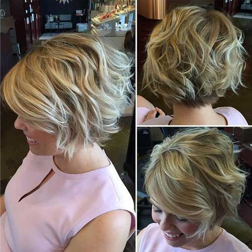 Short Hair Cuts for Older Ladies