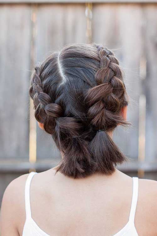 Easy Short Updo Hairstyles for Special Look | Short Hairstyles & Haircuts | 2019 - 2020