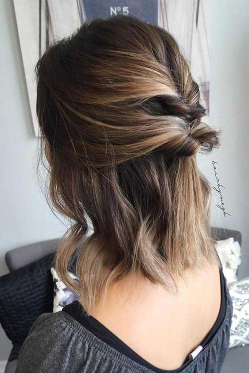 Easy Short Updo Hairstyles for Special Look | Short ...