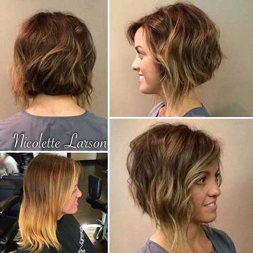 Short Wavy Hair Short Hairstyles Haircuts 2019 2020