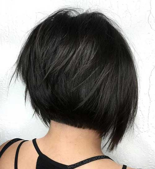 Dark Brown Short Haircuts-11