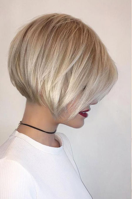 Layered Hair, Bob, Women, Layered, Bobs, Blonde, Quick, Over