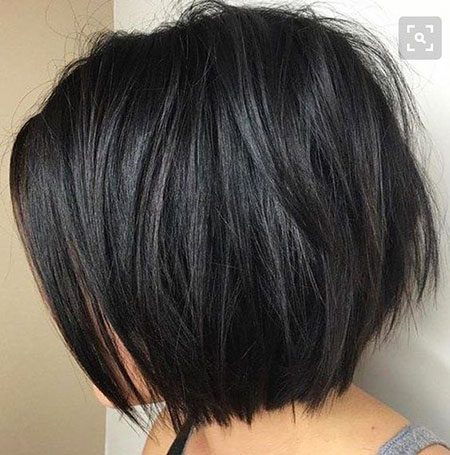 Thick Hair, Bob, Women, Trends, Layered, Trendy, Thick