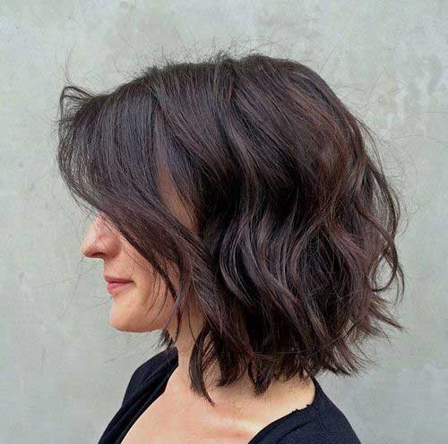 Dark Brown Short Haircuts-9