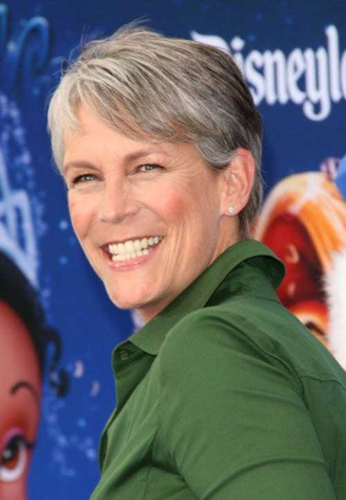 9.Short Hairstyle for Older Women