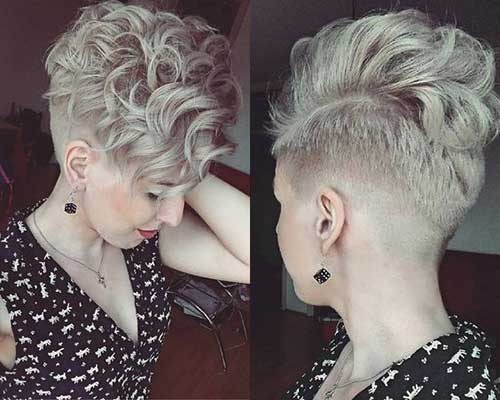 Short Haircut Curly Hair