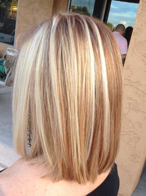 Famous Short Hairstyles With Blonde Lights Short