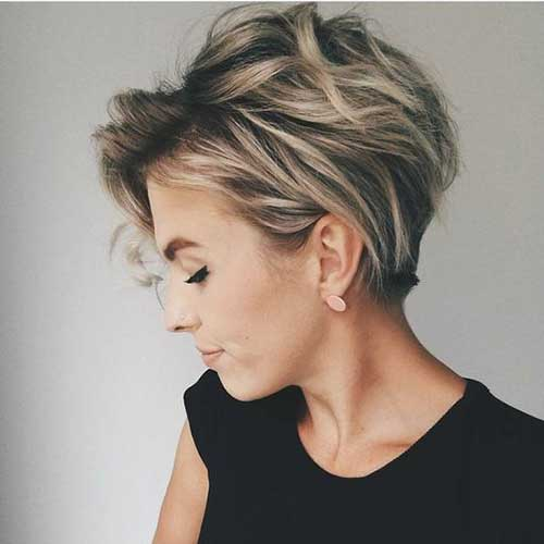 Short Haircuts with Highlights