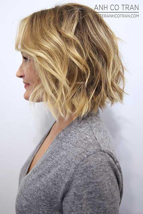 10.Short Layered Haircut