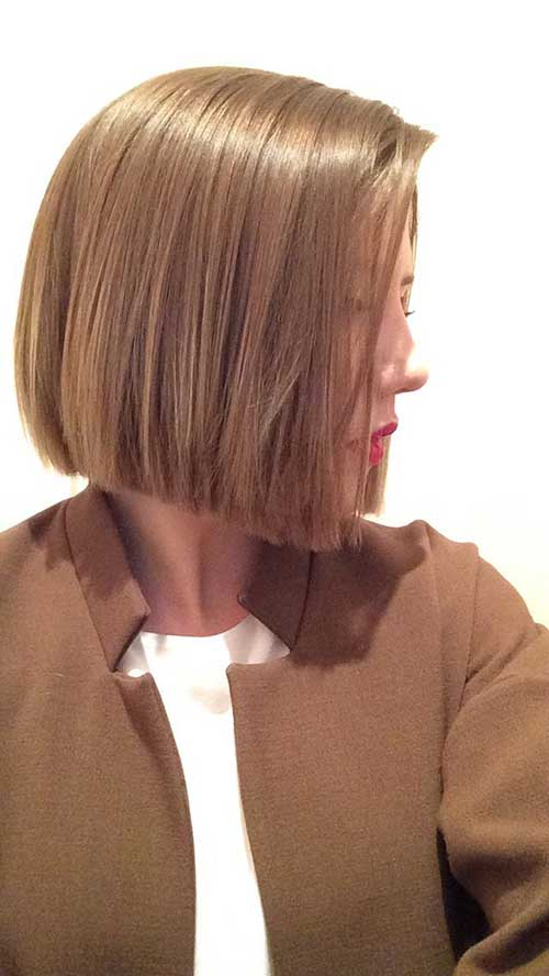 10.Straight Short Hairstyle