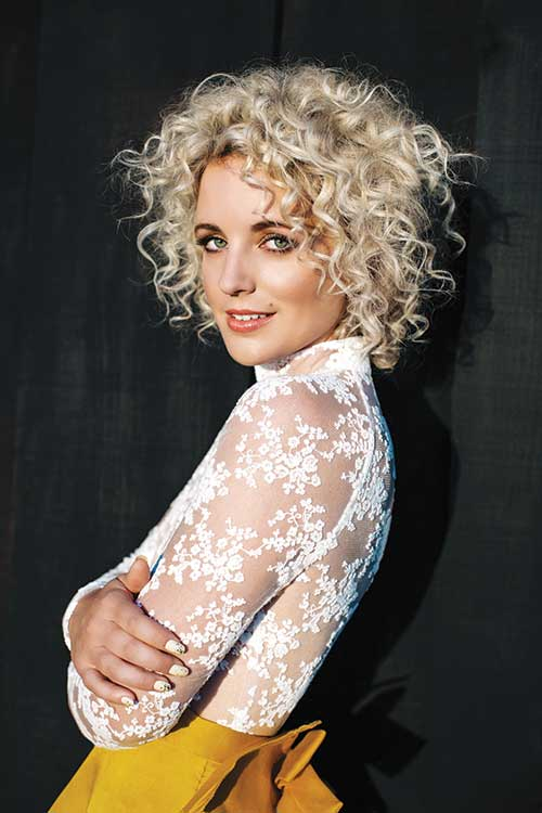 11.Curly Short Hairstyle