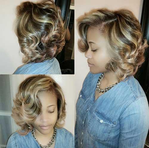 Chic Curly Short Frisuren für Damen